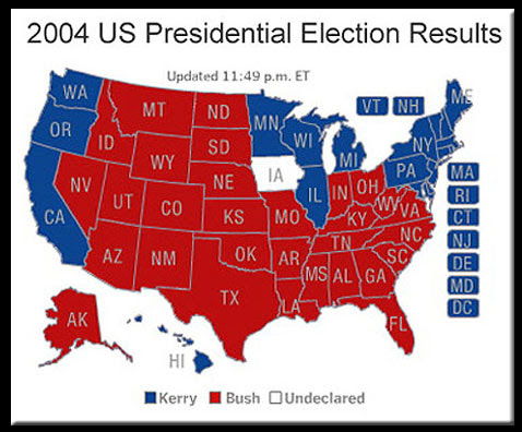 Us Map Republican Democrat 2014