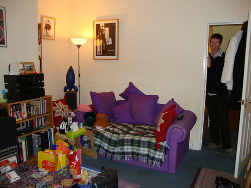 Pete's living room
