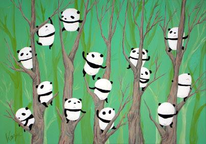 ボチボチギャラリー 木登り三昧