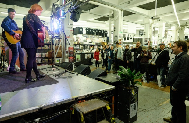 The Rails perform at Rough Trade East