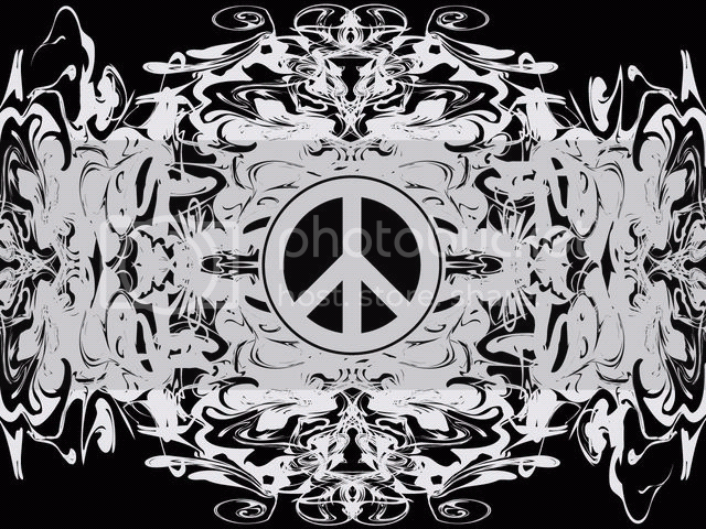 peace sign wallpaper. White Peace Sign Wallpaper