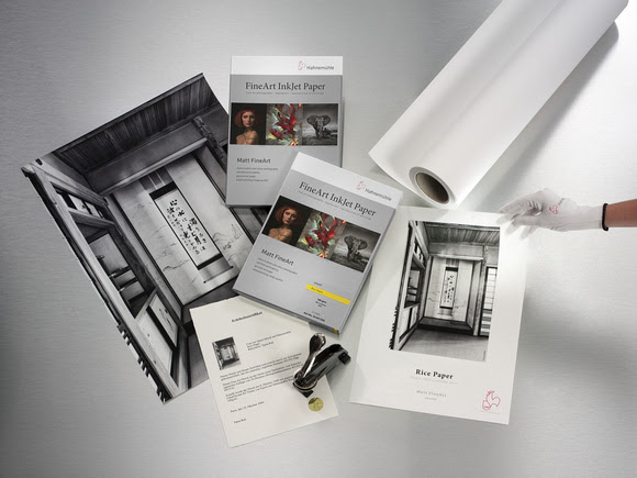 Hahnemühle FineArt Inkjet Paper - Matte FineArt Smooth Rice Paper