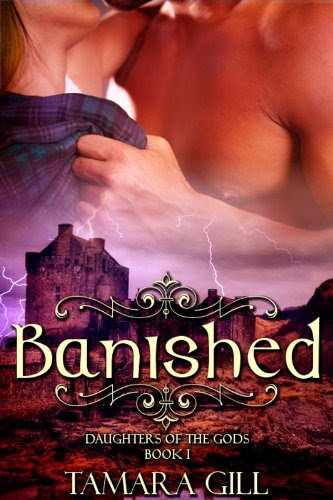 Banished (Daughters Of The Gods, Book 1) by Tamara Gill