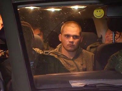 ουκρανοί στρατιώτες επαναπατρίζονται