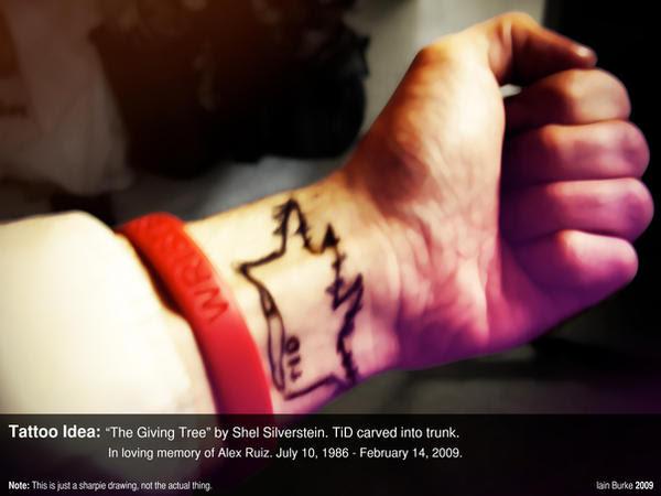 giving tree tattoo. Tattoo Design: quot;Giving Treequot;