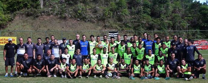 Botafogo foto oficial Domingos Martins (Foto: Vitor Silva / SSpress / Botafogo)