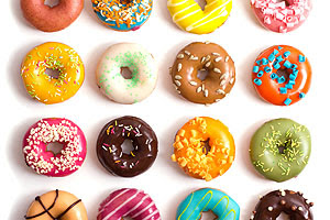 Download Colorful Donuts Free Design Resource Download
