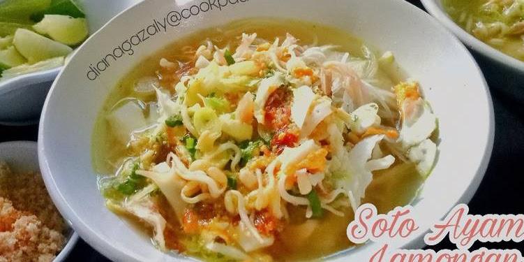 Resep Soto Ayam Lamongan (Soto Surabaya) Oleh Diana Az