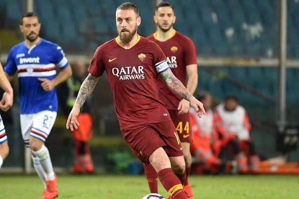 ee4e811a7 Official  De Rossi set to leave Roma