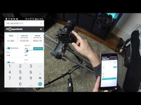 PiLapseRails: Making a motorized time-lapse slider using RaspberryPi