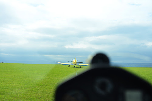 Being Towed in a Glider