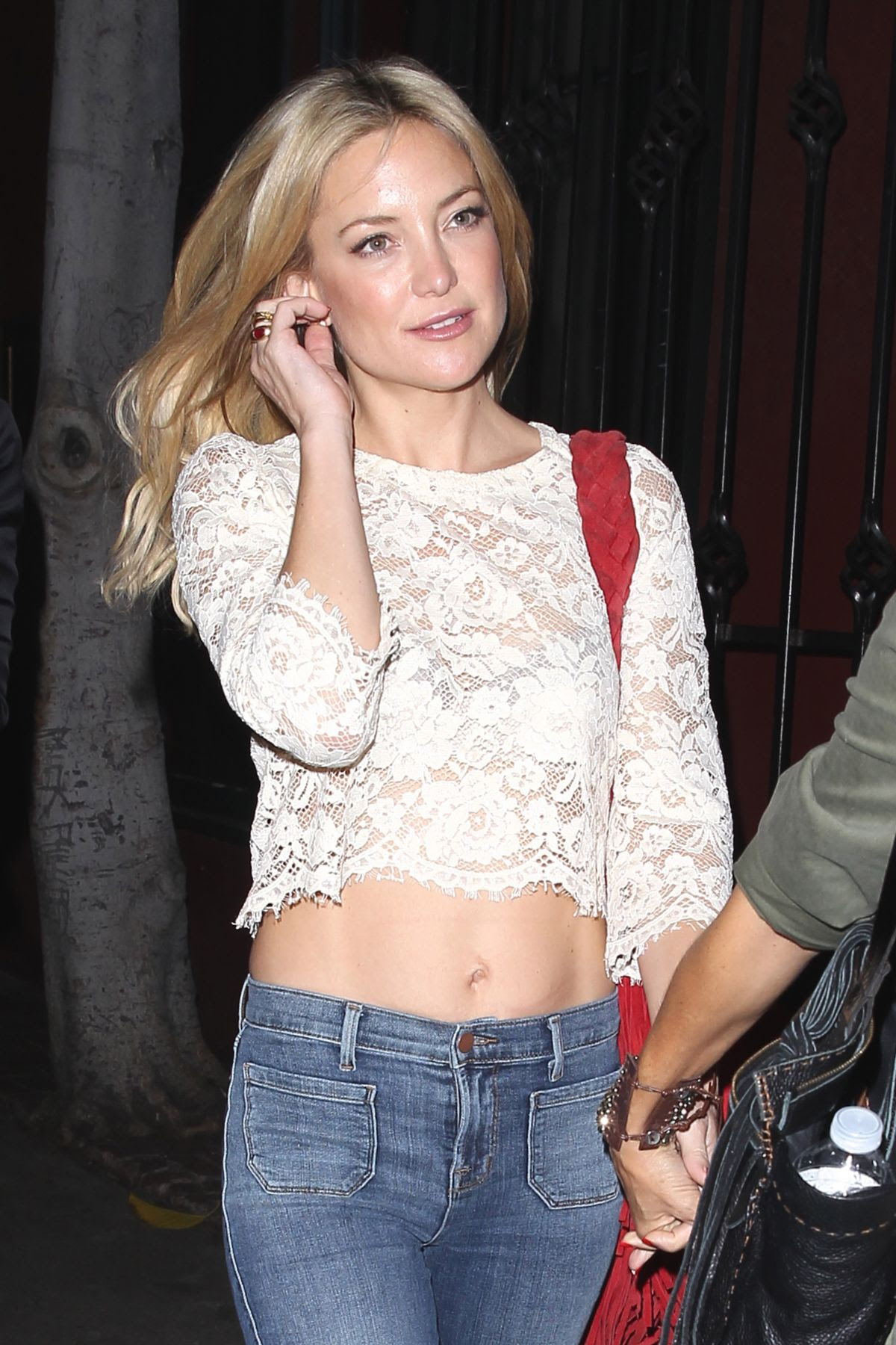 KATE HUDSON Night Out in Los Angeles 10/29/2015