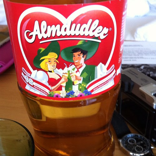 Almdudler - I must be in Austria.