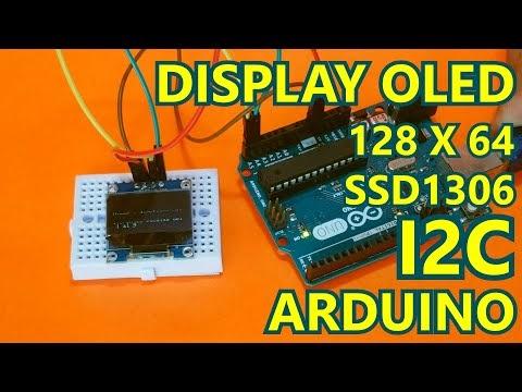 """Cómo usar display OLED SSD1306 de 0.96"""" con Arduino UNO fácil"""