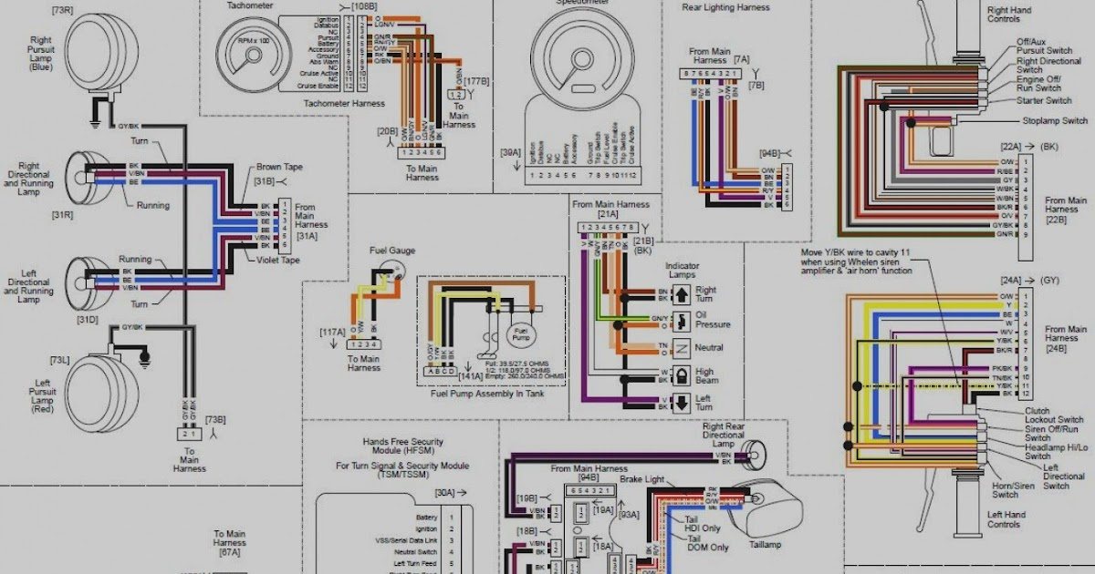 diagram harley davidson road king wiring diagrams full
