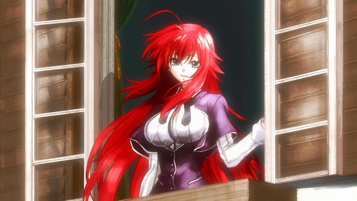 Top Pervert Anime Girl: Rias Gremory - Highschool DxD