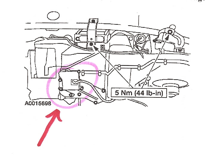 34 Ford Taurus Heater Hose Diagram