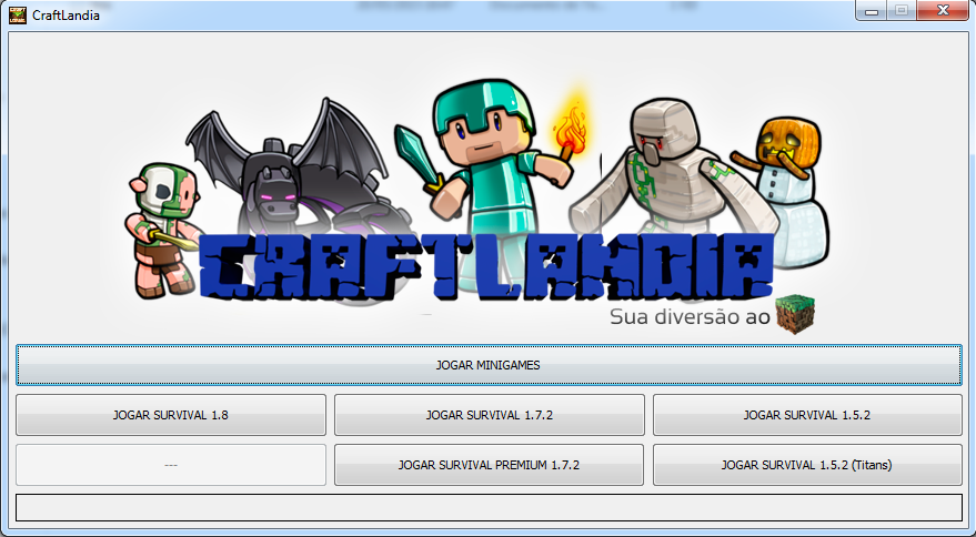Print do Minecraft Launcher!