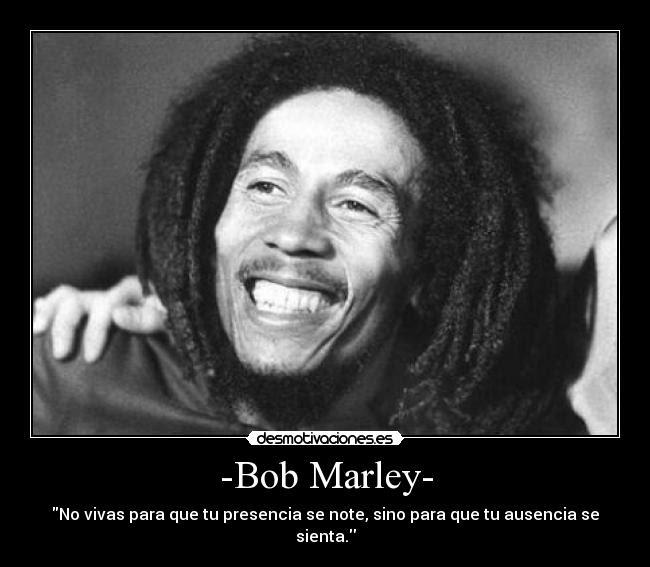 Bob Marley Y Sus Frases Elafter Com