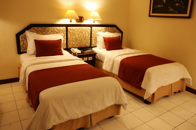 Executive twin room at Hotel Puri Asri