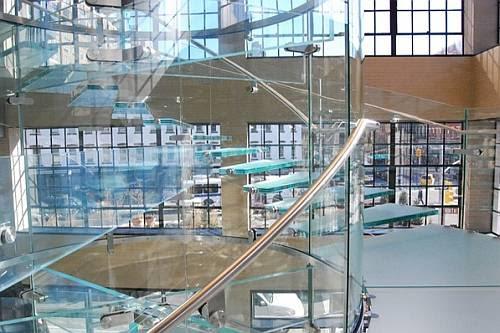 Toda de vidro na Apple Store em NYC.