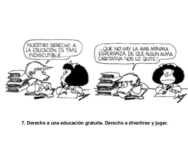 Resultado de imagen de derechos mafalda7