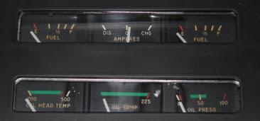 C182 engine instruments