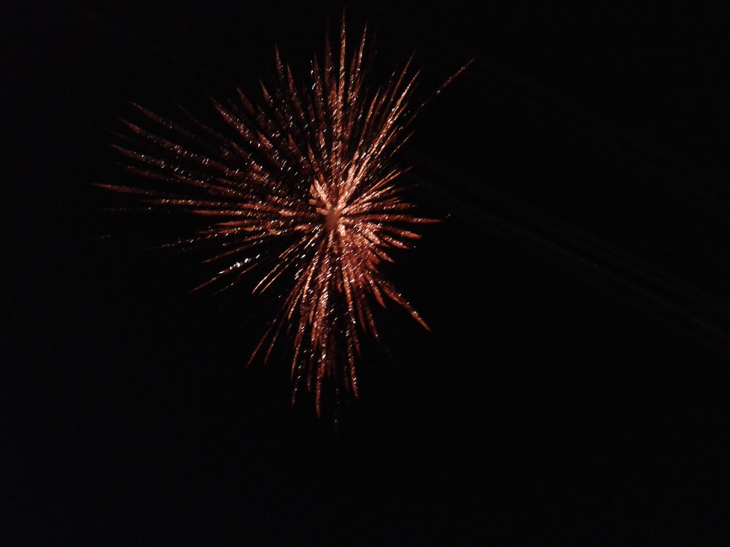 fireworks on the occasion of Dussehra, Lansdowne