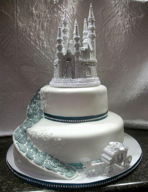 Enchanted Castle Wedding Cake & Cupcakes   CakeCentral.com
