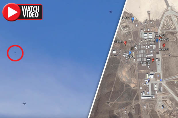 Area 51 Exposed Usaf Jets Snapped Fighting With Mystery