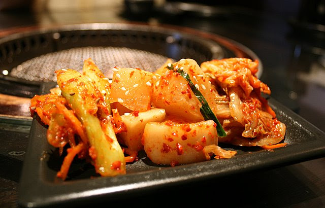 Kimchee appetiser