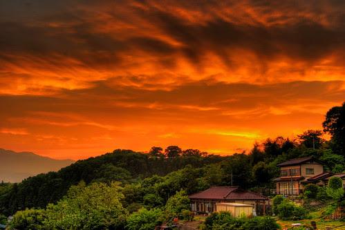 Fukushima sunset