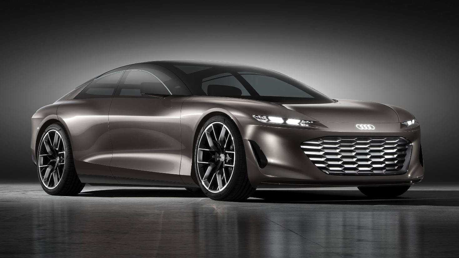 The grandsphere is a glimpse of what one can expect from the successor to the Audi A8. Image: Audi