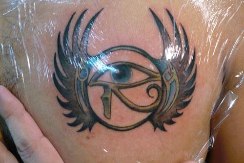 Horus Eye Tattoo Images Designs
