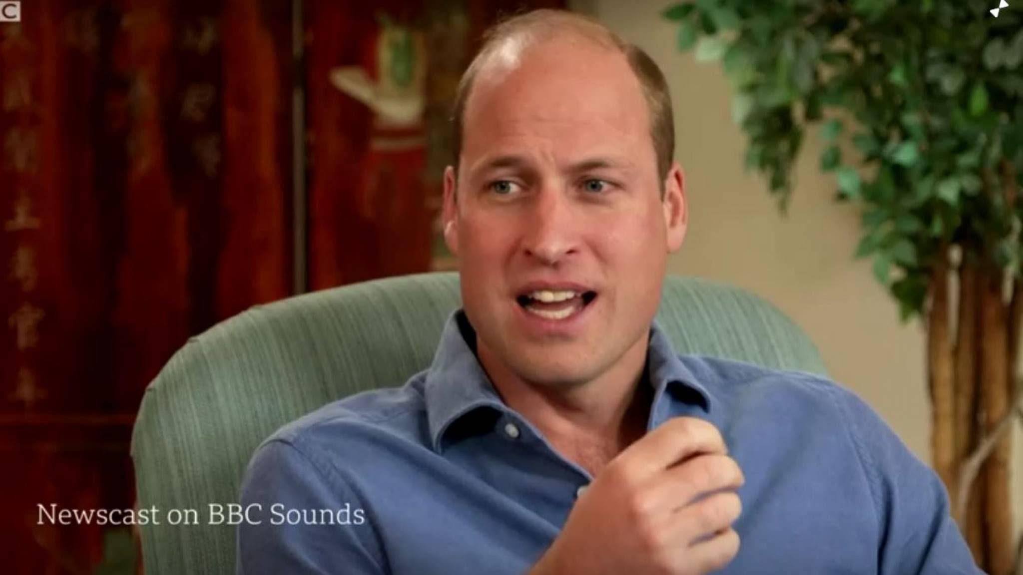 Kritiek prins William op ruimtetoerisme: richt je op problemen van de aarde