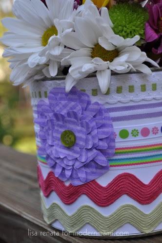 DIY Easter or Spring Centerpiece