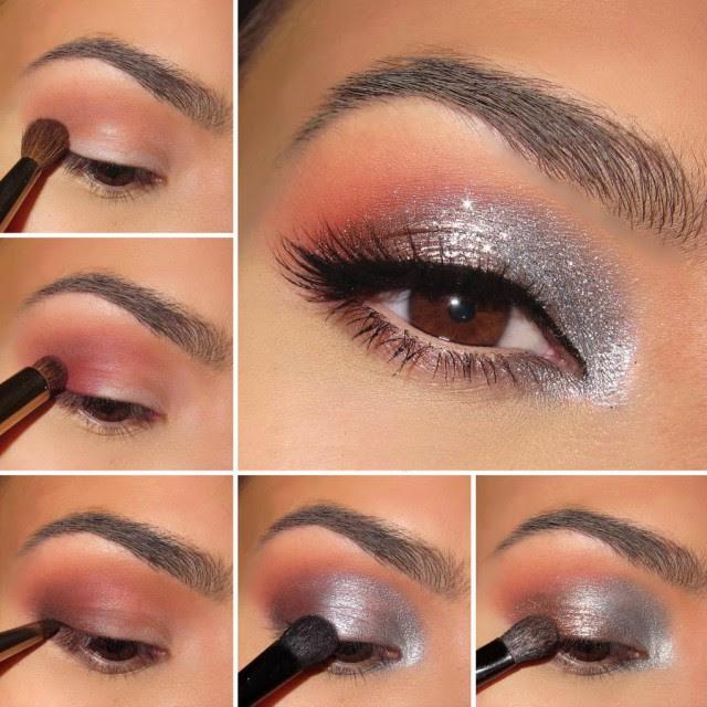 Makeup designs step by step