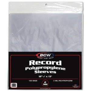 Plastic Album Covers Protective Sleeves For Vinyl Lp Covers