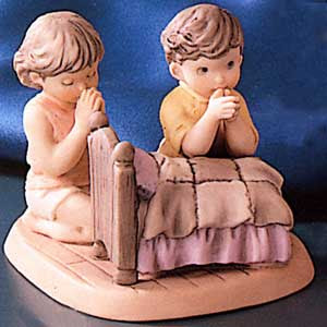 Pretty As A Picture Faith Nothing More Wonderful Figurine