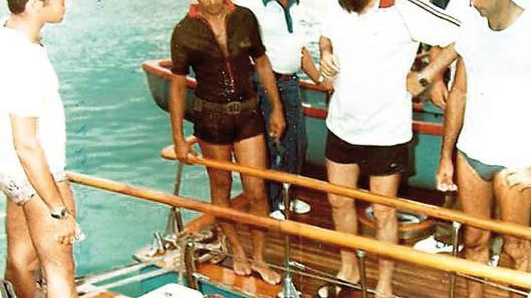 A Fidel le gustaba practicar pesca submarina
