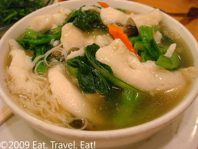 Fish and Rice Noodle Soup