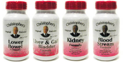 Dr. Christopher's Herbal Cleansing Kit