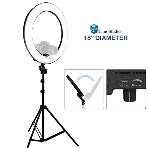 Save 20 Limostudio 18 Ring Light Dimmable Fluorescent Continuous
