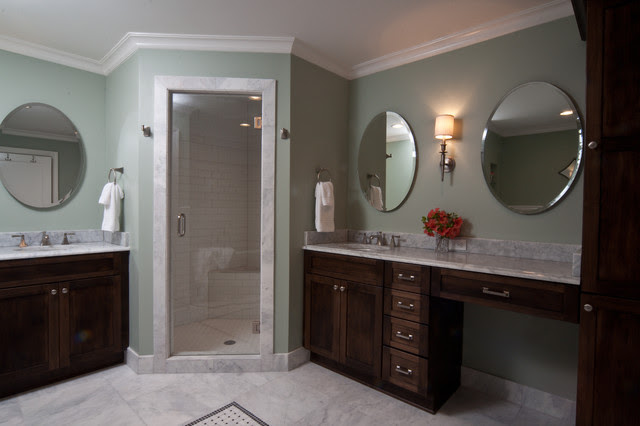 Galloway Master Bedroom and Bath Addition - Traditional - Bathroom ...