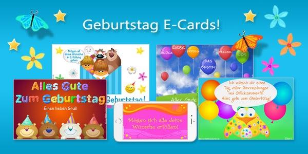 Virtuelle Grußkarten Geburtstag