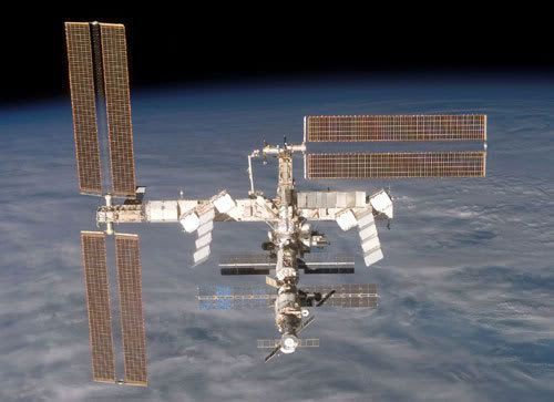 The International Space Station's new look as of December 19, 2006.