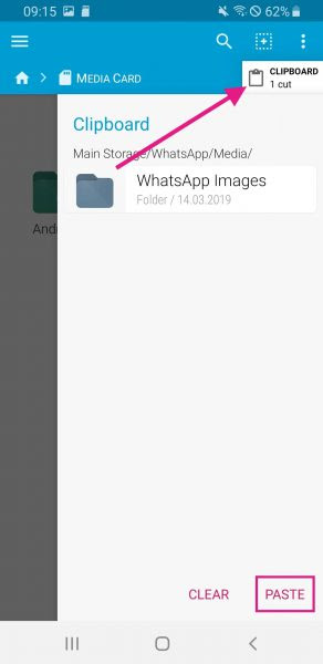 How To Save Whatsapp Data To Sd Card Without Rooting Move Media