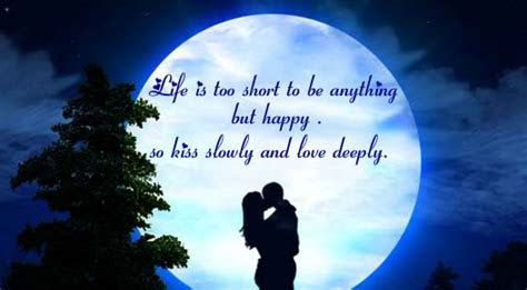 Kiss Slowly And Love Deeply. Free Kiss eCards, Greeting