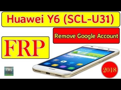 Huawei Y6 Scl U31 Google Account Bypass