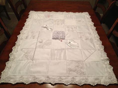 25  best ideas about Wedding Dress Quilt on Pinterest